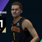 NBA Live 19: Trae Young (81 Overall)