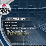 My NBA Live featuring the EA Sports Bio in NBA Live 2004