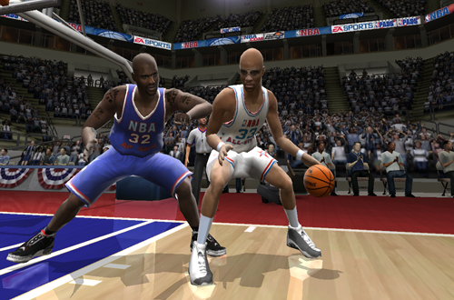 NBA Legends: Kareem Abdul-Jabbar in NBA Live 2005