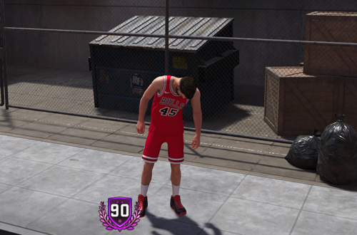 Reaching 90 Overall in MyCAREER (NBA 2K18)