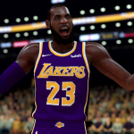 LeBron James on the Lakers in NBA 2K19