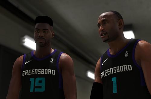 ATM and Jackson Ellis (NBA 2K19 MyCAREER)