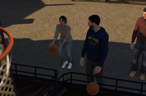 Fair Cutscene in MyCAREER (NBA 2K19)