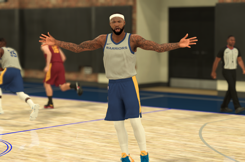 DeMarcus Cousins Fired up in NBA 2K19 The Prelude