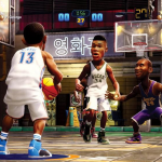 Players in NBA 2K Playgrounds 2