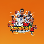 NBA 2K Playgrounds 2 Title With Cover Players