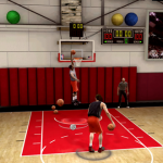 Dunking in the NBA Live Academy (NBA Live 09)