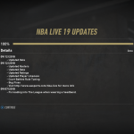 September 12th Content Update for NBA Live 19