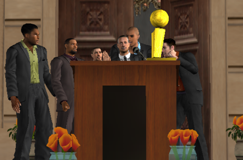 NBA 08: The Life Features Cutscenes