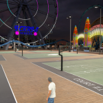 No one online in Old Town (NBA 2K17, MyPARK)