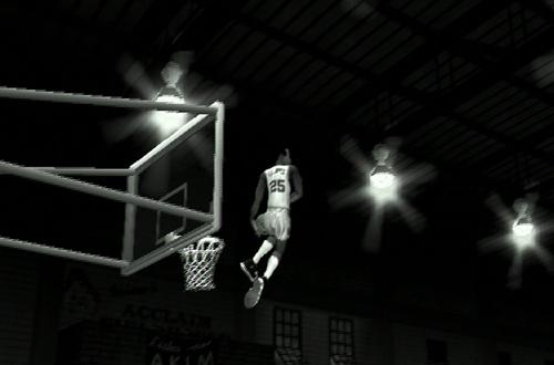 Retro Presentation in NBA Jam 2004