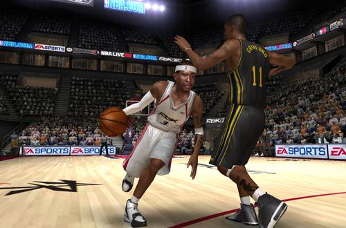 Allen Iverson vs Jamal Crawford (RBK Bonus Teams, NBA Live 06)