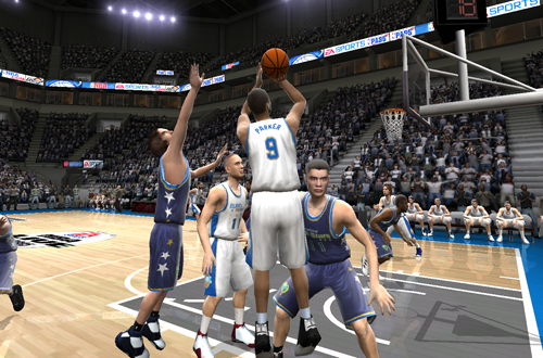 International All-Stars vs European All-Stars (NBA Live 06)