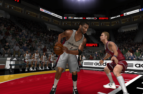Tracy McGrady on Team Adidas (NBA Live 08)