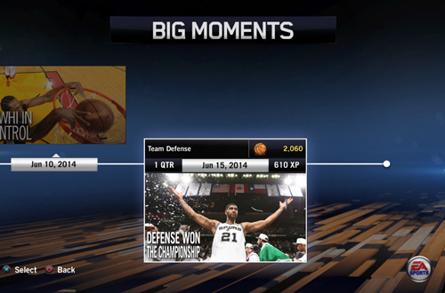 BIG Moments: Defense Won The Championship (NBA Live 14)