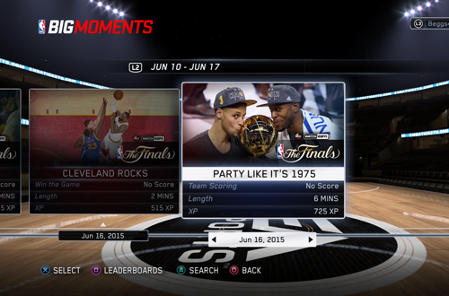 BIG Moments: Party Like It's 1975 (NBA Live 15)