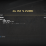 October 2nd Update for NBA Live 19