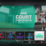 One Court Shootaround in NBA Live 19