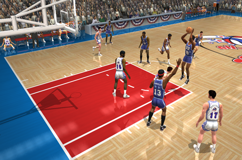 60s vs 70s (Decade All-Stars. NBA Live 2003)