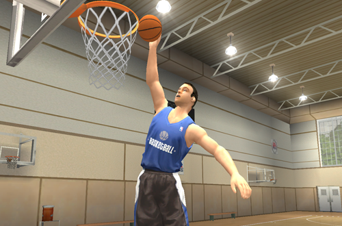 Training Coach Made Playable in NBA Live 2004