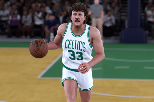 Larry Bird in NBA 2K18