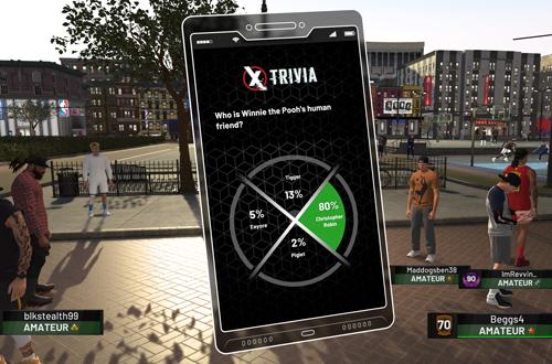 Trivia in NBA 2K19