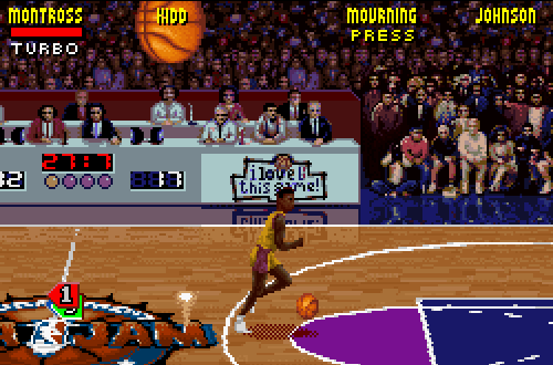 Jason Kidd looked liked the wrong player in NBA Jam Tournament Edition