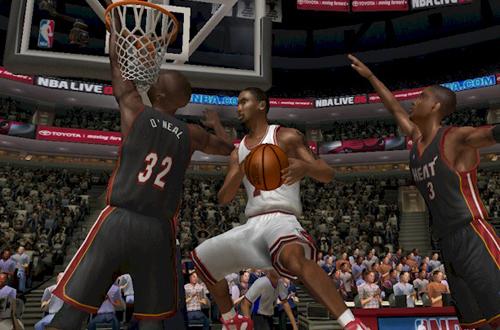 NBA Live 06 Dynasty: Ben Gordon Reverse Layup