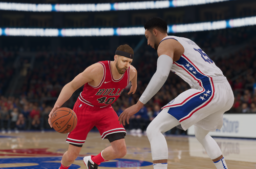 Taking on Ben Simmons in The One (NBA Live 19)