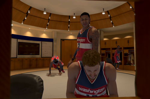 Bradley Beal, one of the mentors in NBA 2K15's MyCAREER