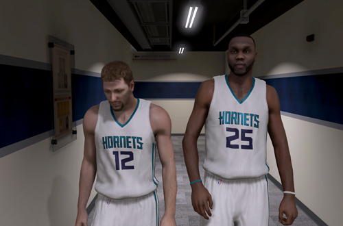 Al Jefferson, one of the mentors in NBA 2K15's MyCAREER
