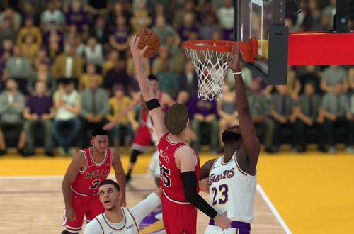 Dunking on LeBron James & Lonzo Ball (NBA 2K19 MyCAREER)