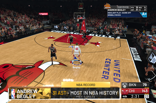 Getting the Assists Record in MyCAREER (NBA 2K19)