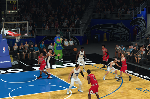 Canned CPU Steal in MyCAREER (NBA 2K19)