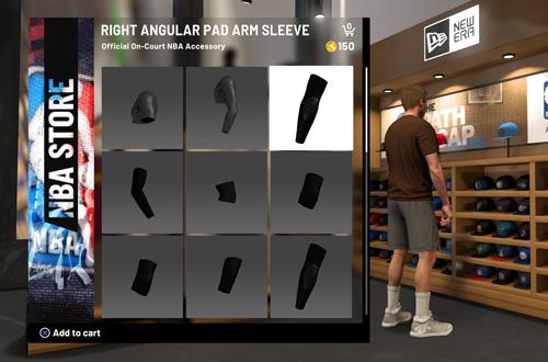 NBA Store in MyCAREER (NBA 2K19)