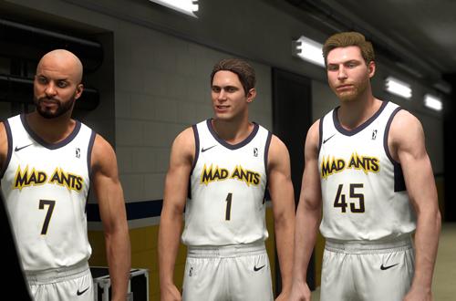 G-League Scene in the NBA 2K19 MyCAREER Story