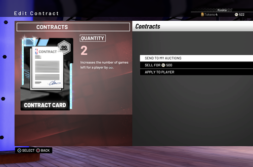 Diamond Contracts in NBA 2K19 MyTEAM