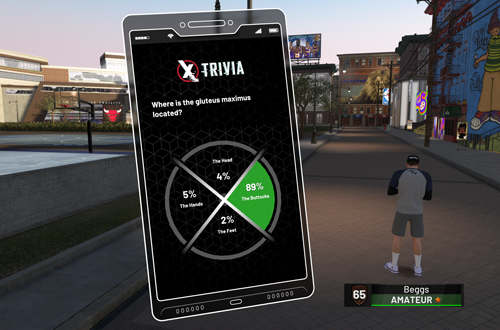 Trivia in The Neighborhood (NBA 2K19 PC MyCAREER)