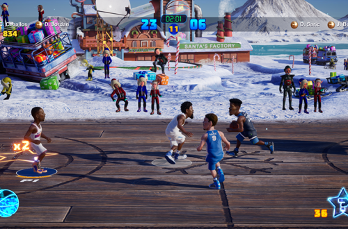 Christmas Playground in NBA 2K Playgrounds 2
