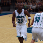 An NBA Tall Tale: Michael Jordan on the Hornets (NBA 2K19)