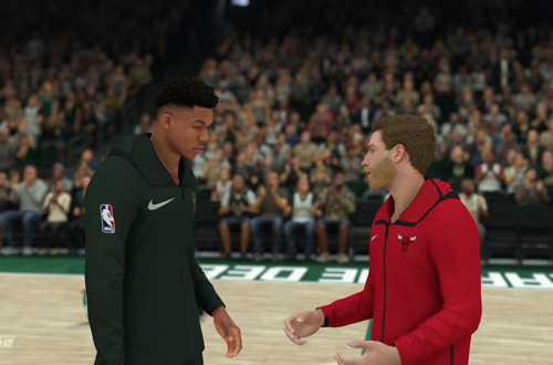 Early Season Game in MyCAREER (NBA 2K19)