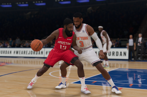 James Harden in NBA Live 19