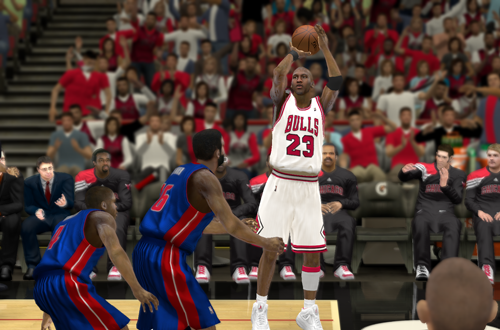 Ultimate Base Roster 2K12: All-Time Bulls vs All-Time Pistons