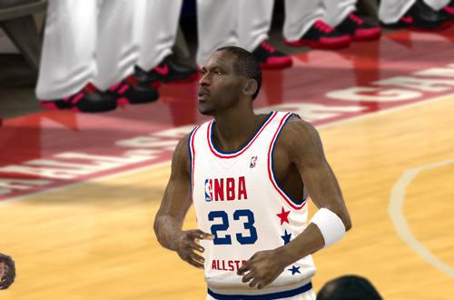 Ultimate Base Roster 2K12: 1988 All-Star Michael Jordan