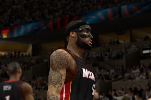 Ultimate Base Roster 2K14: Masked LeBron James