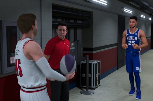 Aussie Rules Cutscene with Ben Simmons (NBA 2K19 MyCAREER)