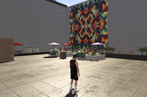 Alleys in The Neighborhood (NBA 2K19)