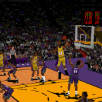 Shaq Dunks in NBA Inside Drive 2000