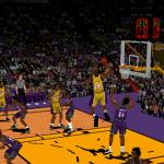 Shaq Dunks in NBA Inside Drive 2000