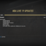 January 31st Content Update for NBA Live 19
